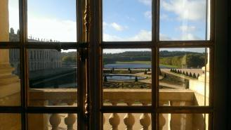 The view from the Palace of Versailles